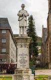 Memorial de guerra em Fort William, Escócia fotografia de stock royalty free
