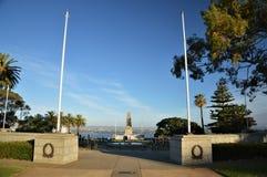 Memorial de guerra em reis Parque em Perth, Austrália imagem de stock