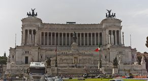 Memorial de guerra em Roma foto de stock
