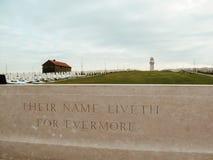 Memorial de guerra mundial do australiano primeiro em Villers-Bretonneux, franco Imagens de Stock Royalty Free