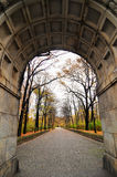 Memorial de guerra soviético no parque de Treptower, panorama de Berlim, Alemanha Imagem de Stock Royalty Free