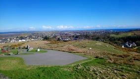 Memorial de guerra de Stornoway foto de stock