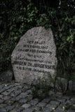 Memorial de Hokkerup imagem de stock