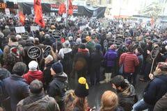 Memorial de Hrant Dink em Istambul Foto de Stock