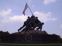 Memorial de Iwo Jima Imagem de Stock