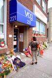 Memorial de Jack Layton Fotos de Stock