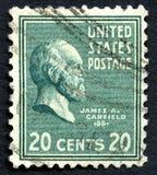Memorial de James A Selo postal de Garfield E.U. Fotografia de Stock