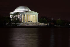 Memorial de Jefferson Fotografia de Stock Royalty Free
