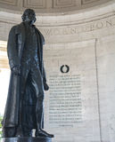 Memorial de Jefferson no Washington DC Fotografia de Stock Royalty Free