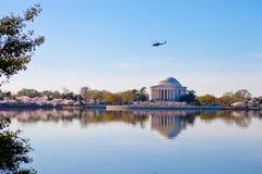 Memorial de Jefferson no Washington DC foto de stock