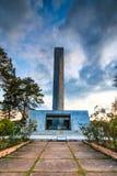 Memorial de Khao Kho na província de Phetchabun de Tailândia Imagem de Stock Royalty Free