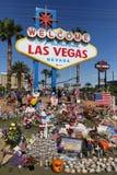 Memorial de Las Vegas no sinal bem-vindo histórico Imagens de Stock