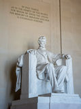 Memorial de Lincoln no Washington DC Fotos de Stock Royalty Free