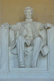 Memorial de Lincoln, Washington, C.C. Imagem de Stock
