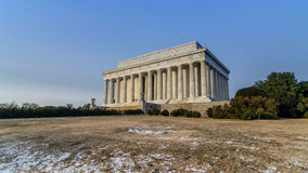 Memorial de Lincoln, Washington DC Foto de Stock