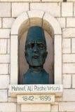 Memorial de Mehmet Ali Pashe Vrioni em Berat, Albânia imagens de stock