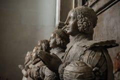 Memorial de Sir George Bruce, abadia de Culross imagem de stock royalty free