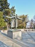 Memorial de SlavÃn - estátua Imagem de Stock
