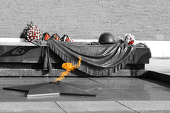 Memorial de soldado desconhecido Fotografia de Stock Royalty Free