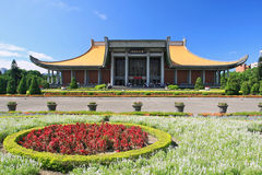 Memorial de Sun Yat-sen em Taipei fotografia de stock royalty free