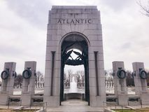 Memorial de WWII fotos de stock royalty free