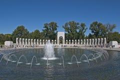 Memorial de WWII: Opinião de ângulo larga Foto de Stock Royalty Free