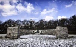 Memorial, Mindelunden in Esbjerg, Denmark Stock Image
