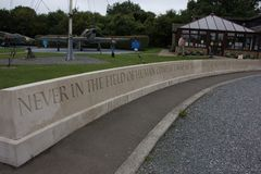 Memorial Dedicated to the Battle of Britian royalty free stock photo