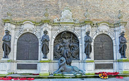 Memorial dedicated to the victims of World War Royalty Free Stock Photo