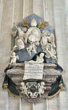 Memorial desk of Ambrosio Capello, bishop of Antwerp Stock Images