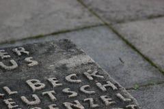 Memorial Detail Stock Image