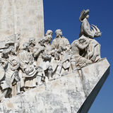 Memorial for the discoverers in Lisbon Portugal Royalty Free Stock Photo