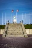 Memorial do americano da praia de Utá Fotografia de Stock