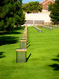 Memorial do bombardeio do Oklahoma City Foto de Stock Royalty Free