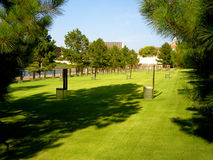 Memorial do bombardeio do Oklahoma City Fotografia de Stock