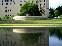 Memorial do bombardeio do Oklahoma City Imagens de Stock