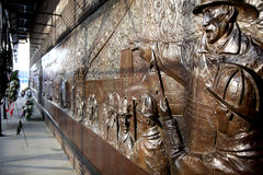 Memorial do bombeiro em New York Fotografia de Stock