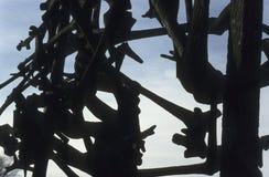 Memorial do campo de concentração de Dachau Fotografia de Stock Royalty Free