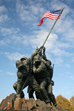 Memorial do fuzileiro naval de Iwo Jima Imagens de Stock