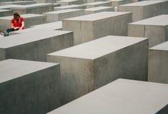 Memorial do holocausto fotografia de stock