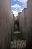 Memorial do holocausto, Berlim Fotografia de Stock