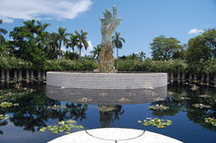Memorial do holocausto de Miami Fotos de Stock Royalty Free