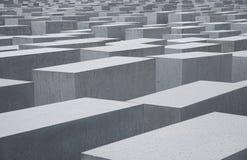 Memorial do holocausto em Berlim Imagens de Stock Royalty Free