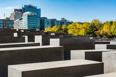 Memorial do holocausto em Berlim Imagem de Stock Royalty Free