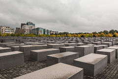 Memorial do holocausto em Berlim Imagem de Stock Royalty Free