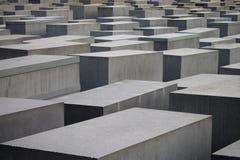MEMORIAL do HOLOCAUSTO em Berlim, Alemanha Fotografia de Stock Royalty Free