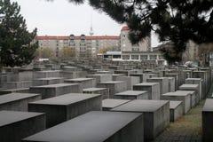 MEMORIAL do HOLOCAUSTO em Berlim, Alemanha Fotos de Stock