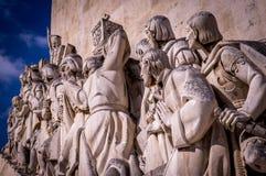 Memorial do marinheiro e do explorador em Lisboa, Portugal foto de stock royalty free