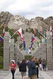 Memorial do nacional do rushmore da montagem Foto de Stock