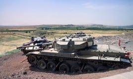 Memorial do tanque Fotografia de Stock Royalty Free